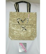 VICTORIA'S SECRET TEASE HEARTBREAKER FRAGRANCE & GLITTER LARGE TOTE BAG - $46.71