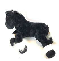"DAN DEE Collectors Choice Stuffed Jumbo Large Horse Pony Plush 30"" Black... - $29.69"