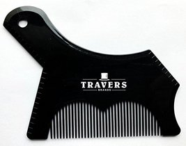 Travers Brands Beard Shaping Tool with Built-in Beard & Mustache Comb for Beard  image 11