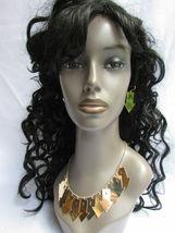 Mujer Sexy Metal Dorado Lightning Flechas Encanto Moda Joyería Collar Set image 3