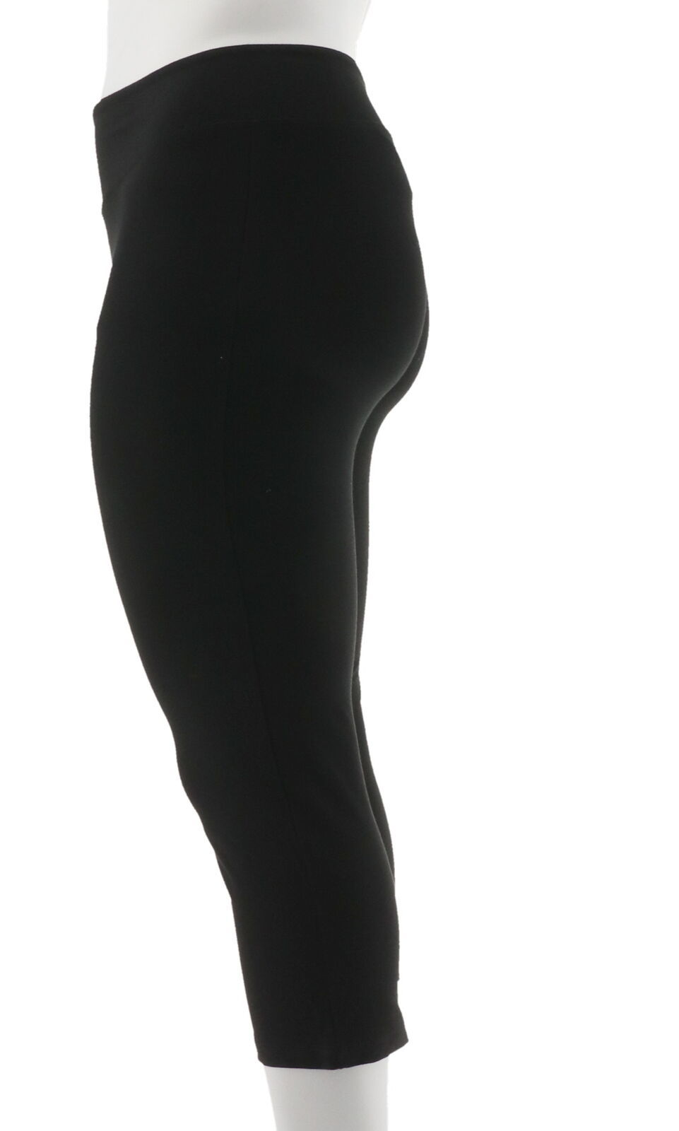 Wicked Women Control Crop Pants Onyx L NEW A307763