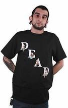 Streetwear Deadline Homme Noir Dead Broche Dessus T-Shirt Neuf