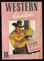 Western Adventures Feb 1941-STREET & Smith PULP-PINK Cv FN/VF - $62.08