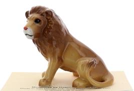 Hagen-Renaker Miniature Ceramic Wildlife Figurine Lion Sitting Large image 4