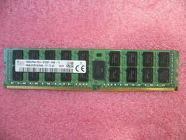 Qty 1x 16GB Sk Hynix DDR4 2Rx4 PC4-2133P-RA0 Ecc Registered Mem HMA42GR7AFR4N-&l - $160.00