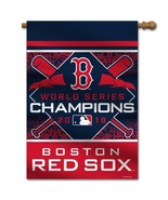 Boston Red Sox 2018 World Series Champions 2-Sided House Flag by Fremont... - $38.99