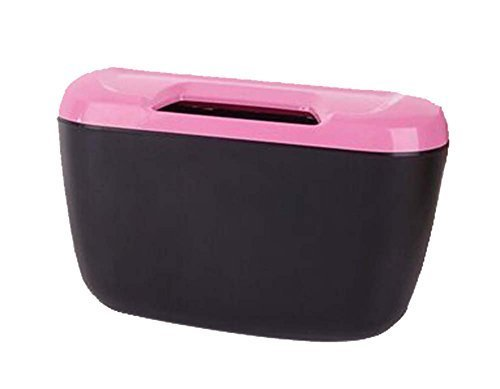 Fashionable Car Trash Cans/Green Box/Storage Box, Pink
