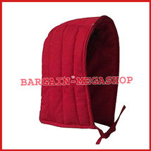 Medieval Renaissance Cotton Padded Coif Arming Cap Red  - $47.99