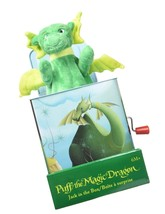 Puff The Magic Dragon, Jack in The Box Plush Baby Toy Brand New - $27.95