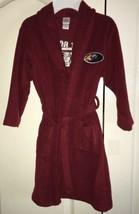 JC Penney Basics Boys Bath Robe Hot Rod Theme Burgundy Size XS - $12.99