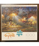Jigsaw Puzzle 1000 Pieces Buffalo 'Our Friends' By Artist Terry Redlin - $11.88