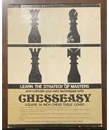 "Chesseasy Learn Chess Master Strategies 36"" Vinyl Table Cloth 32 Pcs & I... - $15.59"