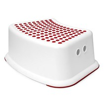 Girls Red Step Stool - Great For Potty Training, Bathroom, Bedroom, Toilet, Toy