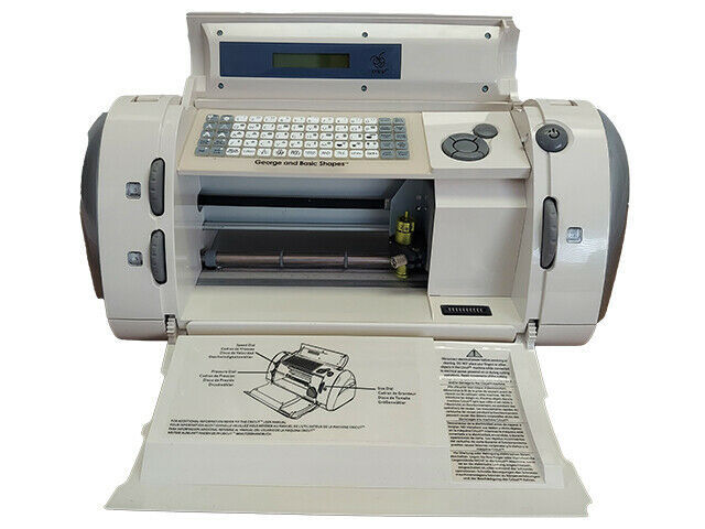 TESTED Cricut Personal Electronic Cutting Machine #29-0001 TESTED