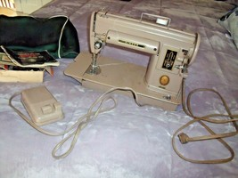 Vintage 301A Singer Sewing Machine With Foot Pedal Manual Cover Parts & Bobbins - $296.95