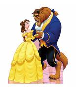 Disney Beauty & The Beast Belle & Beast Lifesize Standup Cardboard Cutou... - $44.95