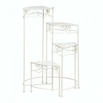 Summerfield Terrace White 4-tier Plant Stand - $75.22