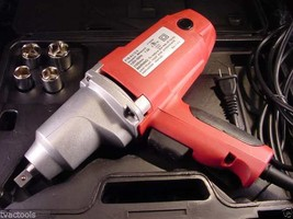 "1/2 "" Dr Electric IMPACT WRENCH TOOL 240 # Torque with sockets and case ... - $59.99"