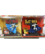 2 DC CLASSIC BATMAN ACTION FIGURE EDITION 1 & 2 MINT IN BOX 1998 DISPLAY... - $44.55