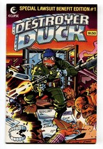 Destroyer Duck #1 1982-First appearance of GROO-comic book - $31.53