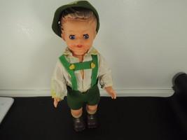 Vtg.Bambola-Italiana  Hansel Doll Toy Sleep Eyes  c.1960 - $14.73