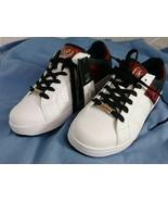 Lotto Men's Skate Shoes SZ 8 White Black Red AV0782 NWT - $33.25