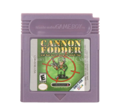 Cannon Fodder Nintendo Game Boy Color GBC Cartridge - $10.99