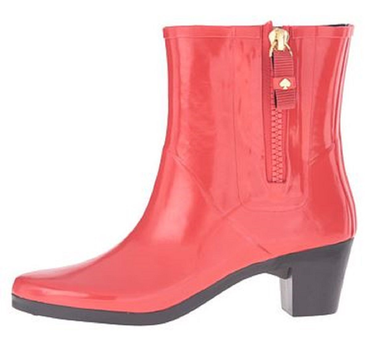 Primary image for Women's Shoes Kate Spade New York PENNY Short Rain Boots Rubber Red