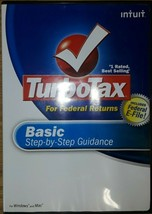 2008 Intuit TurboTax For Federal Returns Basic Step-by-Step Guidance - $9.90