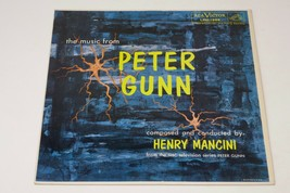 "RCA The Music From Peter Gunn by Henry Mancini 12"" LP Vinyl Record - £7.79 GBP"
