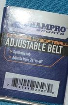 Champro Sports Baseball Softball Adjustable Belt 24 To 48 Inches A062 Teal Color image 4