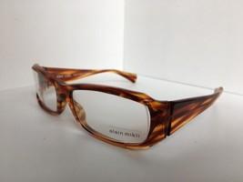 New ALAIN MIKLI AL 09420007 AL09420007 56mm Havana Eyeglasses Frame France - $342.19