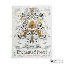 Enchanted Forest Adult Coloring Notecards - $18.74