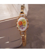 Avon French Flowers Collection Bracelet ~ Vintage Avon ~ French Flowers ... - $16.00