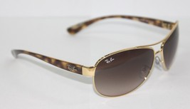 Ray-Ban Sunglasses Aviator 3386 001/13 63 Gold / Tortoise Brown New & Or... - £78.91 GBP