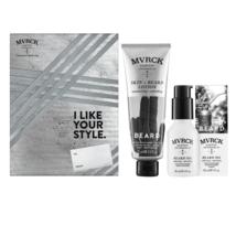 John Paul Mitchell Systems MVRCK Skin & Beard Lotion, Beard Oil Holiday Duo - $25.73