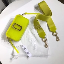 Marc Jacobs Jelly Snapshot Small Camera Bag Crossbody Bag Yellow Multi - $219.00