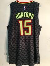 Adidas Swingman 2015-16 NBA Jersey Atlanta Hawks Al Horford Black Alt sz M - $24.74