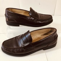 G.H. BASS Gordon Penny Loafer Mens 8 M Burgundy Casual Dress Shoes D702 - $31.78