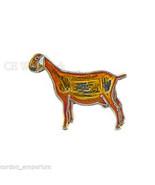 Nubian Goat Animal Wildlife Lapel Pin Badge 3/4 Inch - $4.85