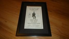 THE FROG jack hawkins/gordon harker-1937 framed original advert - $14.90