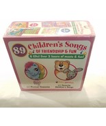 89 CHILDREN'S SONGS OF FRIENDSHIP & FUN MUSIC CDS - $58.49