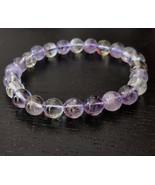 Ametrine gemstone stretchy bracelet #025 - $40.00