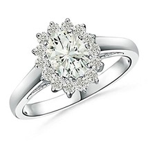 14K White Gold Fn Cz Diamond Bridal Engagement Ring Set For Women's Special - $85.99