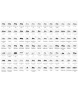 Fonts Bundle 546 IN 1, Fonts Set, Fonts Pack, Commercial Use. Digital Download! - $1.99