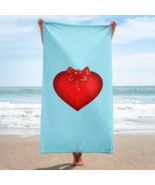 Towel with heart - $45.00