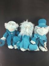 Lot Haunted Mansion Hitchhiking Ghost Ezra Gus Phineus Bean Bag Plush Disney NEW - $40.09