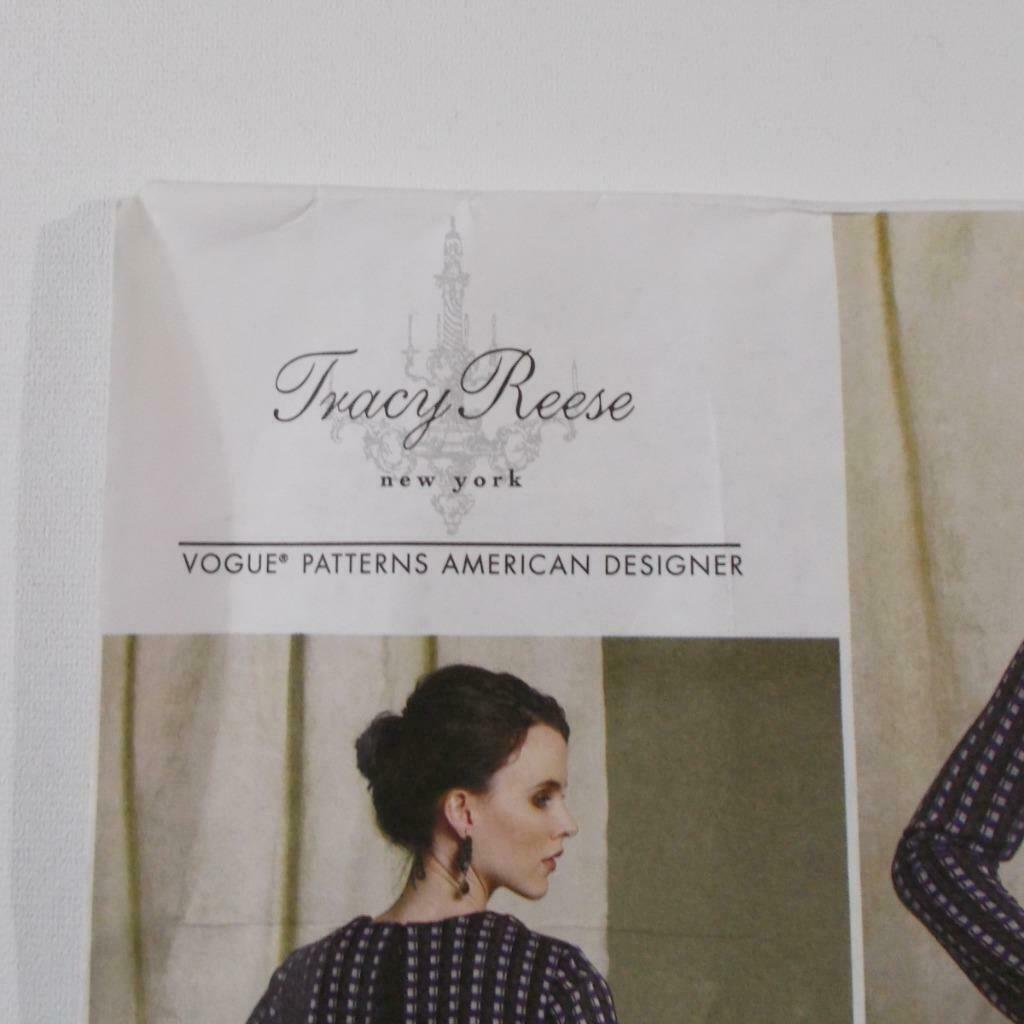 Vogue Tracy Reese V1512 Dress Pattern American Designers E5 Size 14-22