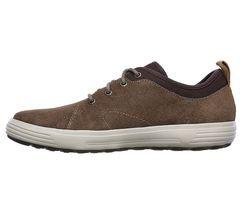 Men's SKECHERS SKECH-AIR: PORTER - ELDEN Casual Shoe, 65141 BGE Sizes 8-14 Beige image 5