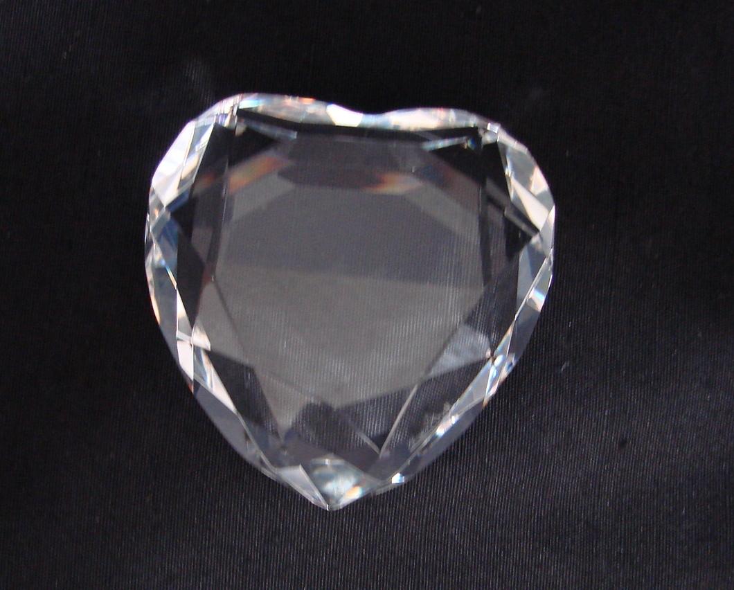 Rosenthal Germany  Crystal Heart, NIB image 4